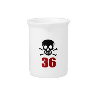 36 Birthday Designs Pitcher