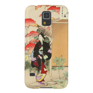36 Examples of Beauties, Tea ceremony Toshikata Cases For Galaxy S5