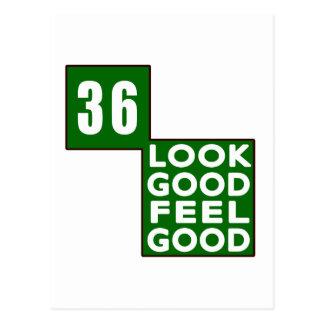 36 Look Good Feel Good Postcard
