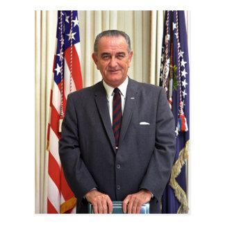 36 Lyndon Baines Johnson Postcard
