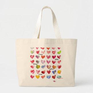 36 Valentine Hearts Tote Bag