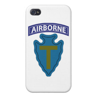 36th Infantry Division - Airborne Cover For iPhone 4