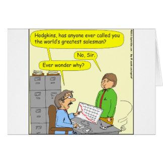 370 worlds greatest salesman cartoon card