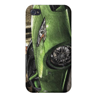 370z Graphic Pen Sketch iPhone 4/4S Cover
