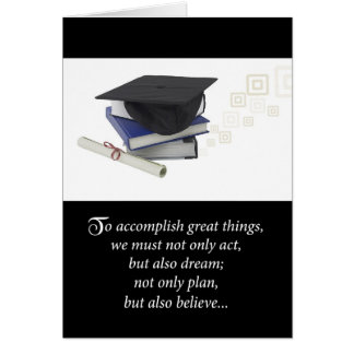 3724 Graduation Accomplishment Card