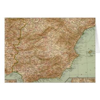 3738 Spain, Portugal Greeting Card