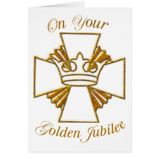 3773 Golden Jubilee of Religious Life Greeting Cards
