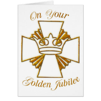 3773 Golden Jubilee of Religious Life Greeting Card