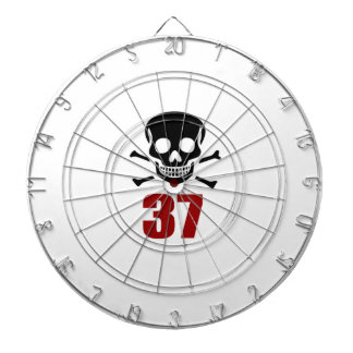 37 Birthday Designs Dartboard