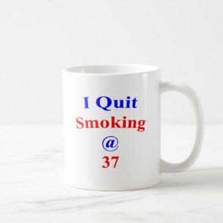 37 I Quit Smoking Coffee Mug