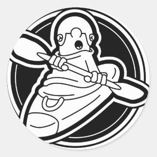 37_KC_logo Classic Round Sticker