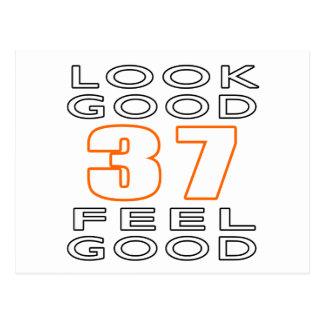 37 Look Good Feel Good Postcard