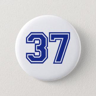 37 - number 2 inch round button