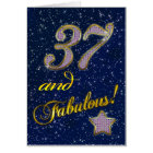 37th birthday for someone Fabulous Card