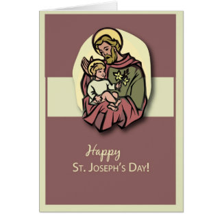 3818 St. Joseph's Day Card