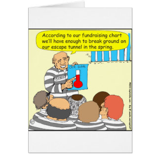 387 fundraising in jail cartoon card