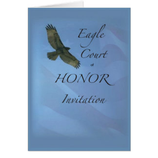 3895 Eagle Court of Honor Invitation