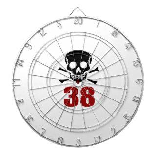 38 Birthday Designs Dartboard
