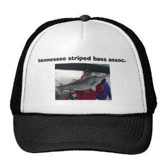 38 # hand full, tennessee striped bass assoc. trucker hat