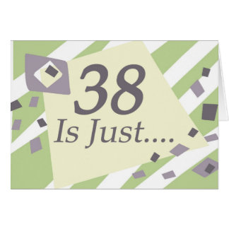38th Birthday Card