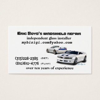 391198890_2886695d9b, Eric Boyd's windshield re... Business Card