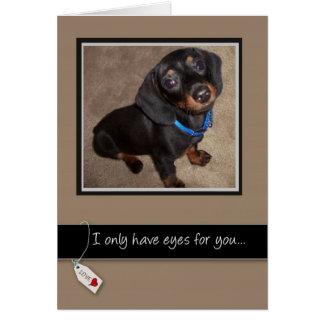 3938 Love You Dog Card