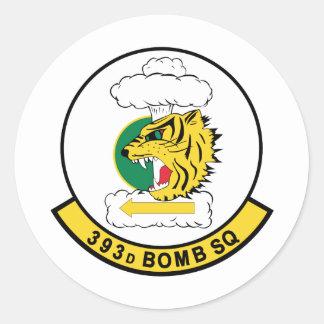 393d  Bomb Squadron Classic Round Sticker