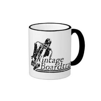397 Vintage Boardtrack Ringer Coffee Mug