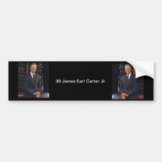 39 James Earl Carter Jr. Bumper Sticker