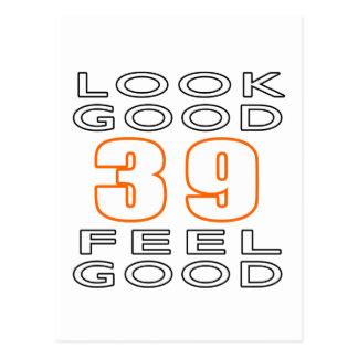 39 Look Good Feel Good Postcard