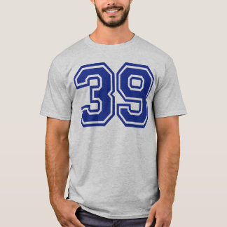 39 - number T-Shirt