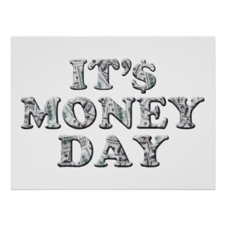 3-10 Money Day Poster