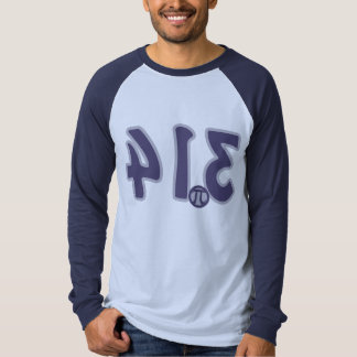 3.14 Backwards looks like pie Pi Day T-Shirt