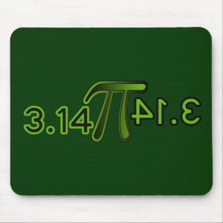 3.14 Backwards Spells Pie Mouse Pad