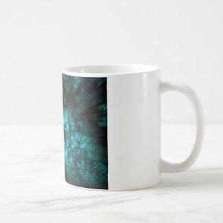 3 1 fractal classic white coffee mug