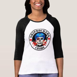 3/4 chemise de Shiprockers de la douille des Tee Shirt