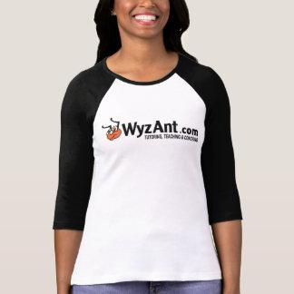 3/4 Length Logo Ringer T T-Shirt