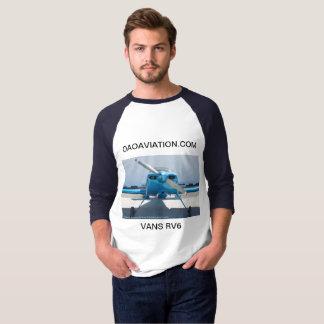 3/4 Length Raglan with Vans RV6 + CNY3 Airport T-Shirt