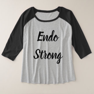 3/4 sleeve endo awareness shirt