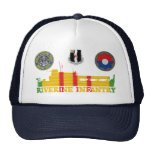 3/60th Inf. ATC Tango Boat & Patches Hat