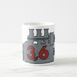 3,6 engine coffee mug