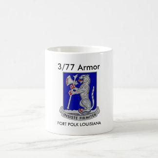 3/77 Armor Fort Polk Louisiana Coffee Cup