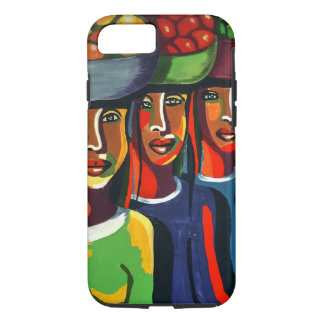 3 African Ladies With Fruit Baskets iPhone 8/7 Case