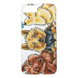 3 Australian Terriers iPhone 7 Case