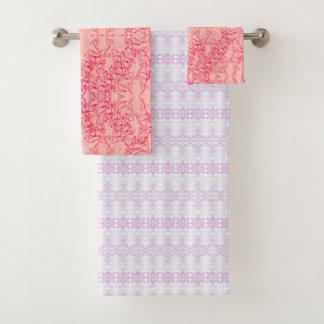 3 BATH TOWEL SET