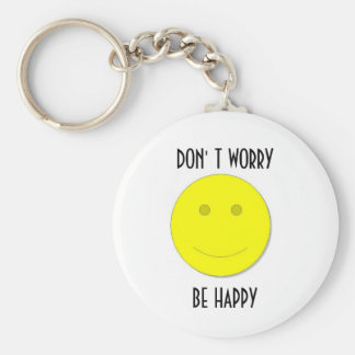 3, BE HAPPY, KEYCHAIN