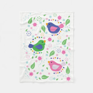 3 Birds Kids Blanket