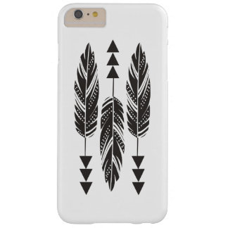 """3 Black Feathers"" iPhone 6 Plus Case"