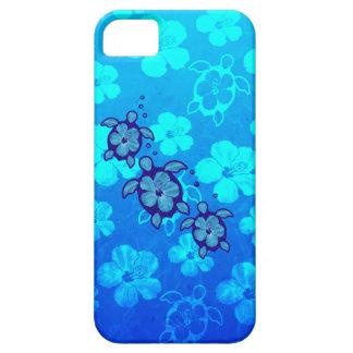 3 Blue Honu Turtles iPhone 5 Case