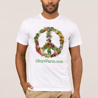 3 Boys Farm MED men's T (American Apparel) T-Shirt